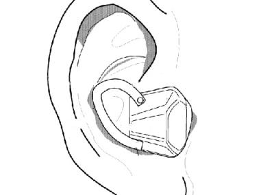 Ear Sensor (Shock & Temperature)
