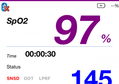 iOS Pulse Oximetry App & Hardware